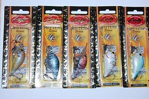 5 lures lucky craft flat mini mr bass crankbait 2