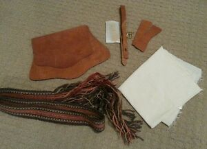 Leather Longhunter Mountain Man Hunting Bag You-Build-It
