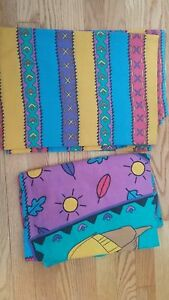 Used Disney POCAHONTAS TWIN FLAT FITTED SHEETS