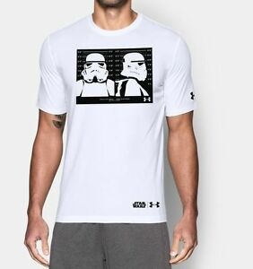 Limited Edition Under Armour Alter Ego Star Wars Trooper Line Up Loose Shirt