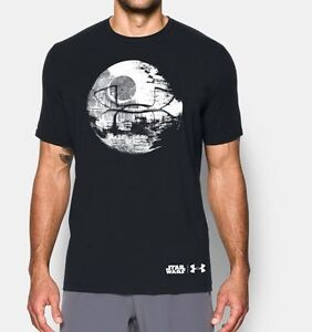 Limited Edition Under Armour Alter Ego Star Wars Death Stars Loose Fit Shirt