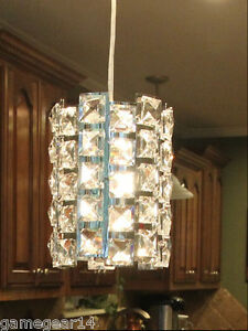 Crystal pendant light fixture chandelier lamp for kitchen island dining room $39.99