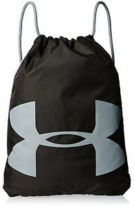 $30 UNDER ARMOUR MENS GRAYBLACK SHOULDER BACKPACK WORK TRAVEL SCHOOL GYM BAG