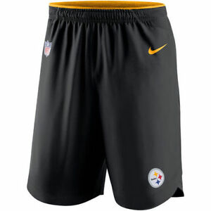 Limited Edition Nike Dri-FIT NFL Pittsburgh Steelers 2017 Vapor Player Shorts
