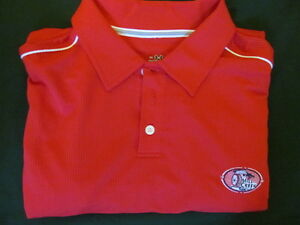 NEW Red White UNDER ARMOUR MILL CREEK GOLF CLUB NORTH CAROLINA POLO SHIRT-XLXXL