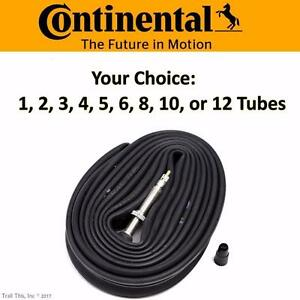 Continental Race 28 700x18-23-25 42mm Presta Road Bike Tube Multi-Pack Lot Bulk