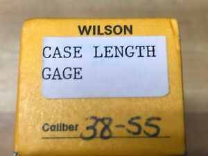LE Wilson Reloading Tool Die Cartridge Case Length Gage 38-55 Winchester
