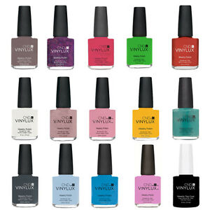 CND Vinylux Weekly Nail Polish. Buy 1 Get 1 at 50% Discount. Full Size Bottle. $7.98