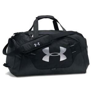 Under Armour Undeniable Water Resistant Duffle 3.0 Medium Black UA 130021 $44.99