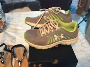 under armour shoes womens size 8 $50.00