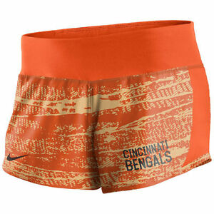 Limited Edition NFL 2017 Nike Cincinnati Bengals Women's Crew Shorts
