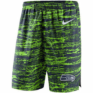 Limited Nike Dri-FIT NFL Seattle Seahawks 2017 Shield Performance Player Shorts