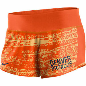 Limited Edition NFL 2017 Nike Denver Broncos Women's Crew Shorts