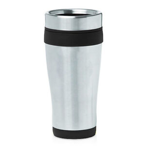 Stainless Steel Insulated 16oz Travel Mug Coffee Cup