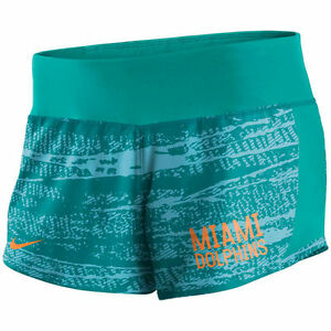 Limited Edition NFL 2017 Nike Miami Dolphins Women's Crew Shorts