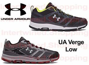 Under Armour 1297221 Men's Verge Low Hiking Michelin Shoes All Sizes 8-13