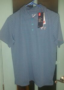 NWT UNDER ARMOUR Boys POLO GOLF shirt SIZE YL YOUTH large