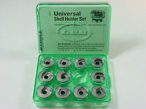 NEW Lee Universal Shell Holder 11 Piece Kit  223rem 9mm 40sw 90197