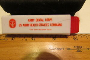 Vintage Boy Scout 1985 National Scout Jamboree-Army Dental Corps Toothbrush