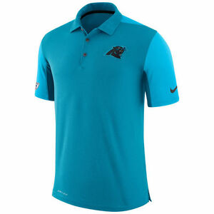 Limited Nike Dri-FIT NFL 2017 Carolina Panther Team Issue Performance Polo Shirt