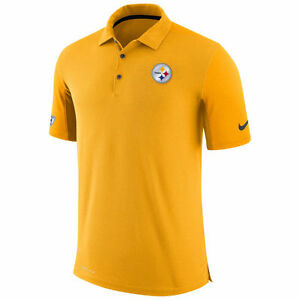 Limited Nike Dri-FIT NFL 2017 Pittsburgh Steelers Team Performance Polo Shirt