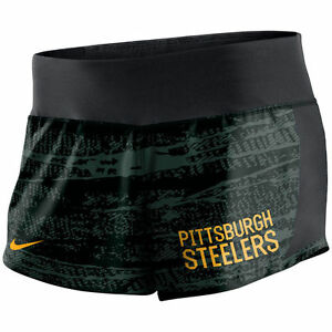 Limited Edition NFL 2017 Nike Pittsburgh Steelers Women's Crew Shorts