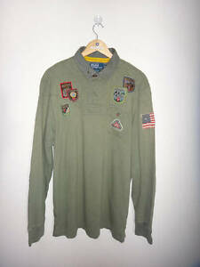 Polo Ralph Lauren Polo Mountain Expedition Rugby Long Sleeve Tshirt Polo Sport T