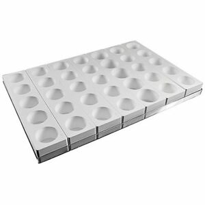 Silikomart Multiflex Silicone Mold Round 60x45mm 35 Cavities + Tray