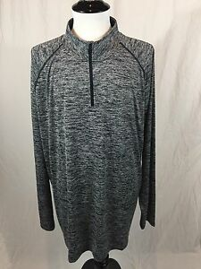 New! Under Armour Heat Gear Pull Over Top Loose Fit Men's Size 2XL 14 Zip NWT!