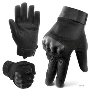 Army Military Combat Tactical Hunting Shooting Hard Knuckle Full Finger Glove