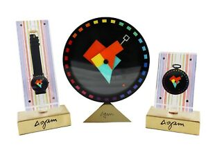 MOVADO WATCH SET DESIGNED BY YAACOV AGAM MULTI DIMENSION SERIES LMT ED 125  250