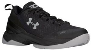Under Armour Curry 2 Low - Boys' Grade School BlackWhite 5082-001