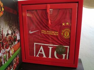 Manchester United 2007-08 Limited Edition UCL Home Soccer Shirt Jersey BNIB M
