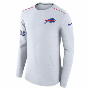 Nike Dri-FIT 2017 NFL Buffalo Bills Sideline Player Long Sleeve T-Shirt NWT