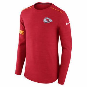 Nike Dri-FIT 2017 NFL Kansas City Chiefs Sideline Player Long Sleeve T-Shirt