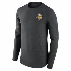 Nike Dri-FIT 2017 NFL Minnesota Vikings Sideline Player Long Sleeve T-Shirt