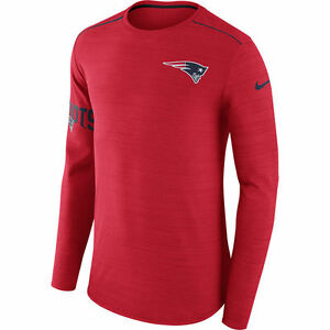 Nike Dri-FIT 2017 NFL New England Patriots Sideline Player Long Sleeve T-Shirt