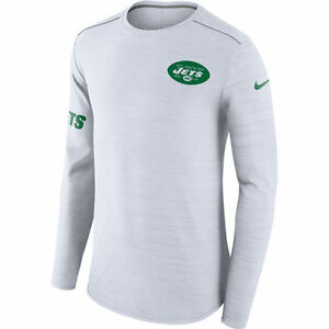 Nike Dri-FIT 2017 NFL New York Jets Color Rush Player Long Sleeve T-Shirt