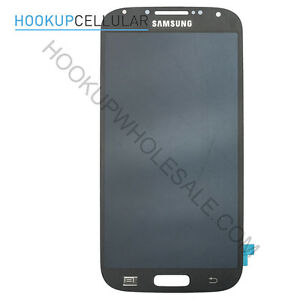 Samsung Galaxy S4 Front Assembly Glass Digitizer LCD Replacement USA - Blue