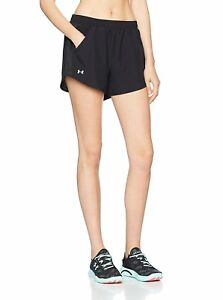 Under Armour Womens Fly By Shorts Black XX-Large