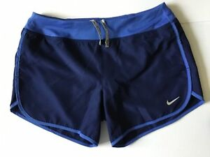 NIKE RUNNING DRY Girls Youth Dri Fit Running Shorts Size Small (age 8-10years)