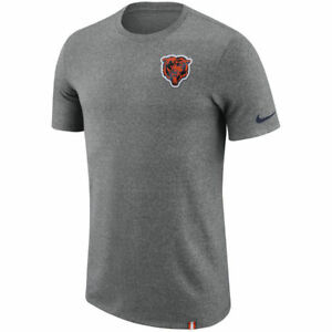 Limited Edition Nike Dri-FIT NFL 2017 Chicago Bears Dry Marled Patch T-Shirt