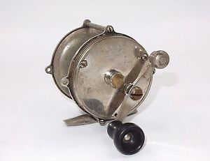 VINTAGE 4 BROTHERS MOHAWK BRASS FISHING REEL PAT 1907 & 1923 $49.99
