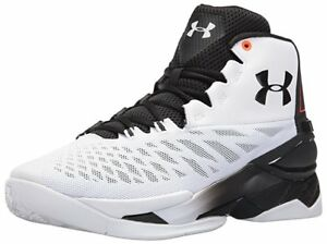 Under Armour Men's Longshot Basketball Cross-Trainer Shoe White V 101