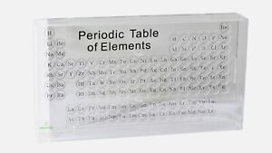 Periodic table of Elements element collection case acrylic table case labels $99.90