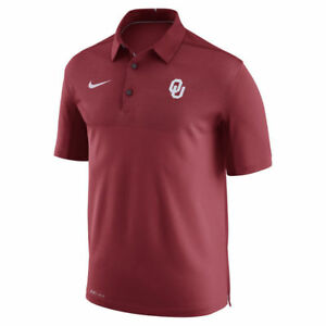 Limited Edition Nike Dri-FIT NCAA 2017 Oklahoma Sooners Performance Polo Shirt