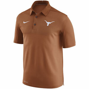 Limited Edition Nike Dri-FIT NCAA 2017 Texas Longhorns Performance Polo Shirt