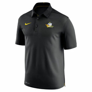 Limited Edition Nike Dri-FIT NCAA 2017 Oregon Ducks Performance Polo Shirt NWT