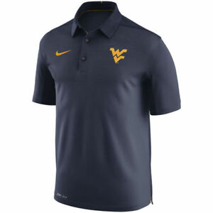 Limited Nike Dri-FIT NCAA 2017 West Virginia Mountaineers Performance Polo Shirt