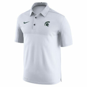 Limited Nike Dri-FIT NCAA 2017 Michigan State Spartans Performance Polo NWT